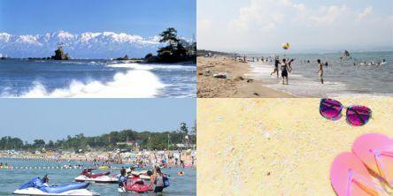 富山県のおすすめビーチ・海水浴場、2021年度の開催・中止は