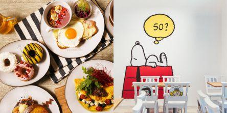 「PEANUTS」の世界観が楽しめるカフェが原宿にオープン!1日を幸せにするヘルスコンシャスな料理を楽しんで