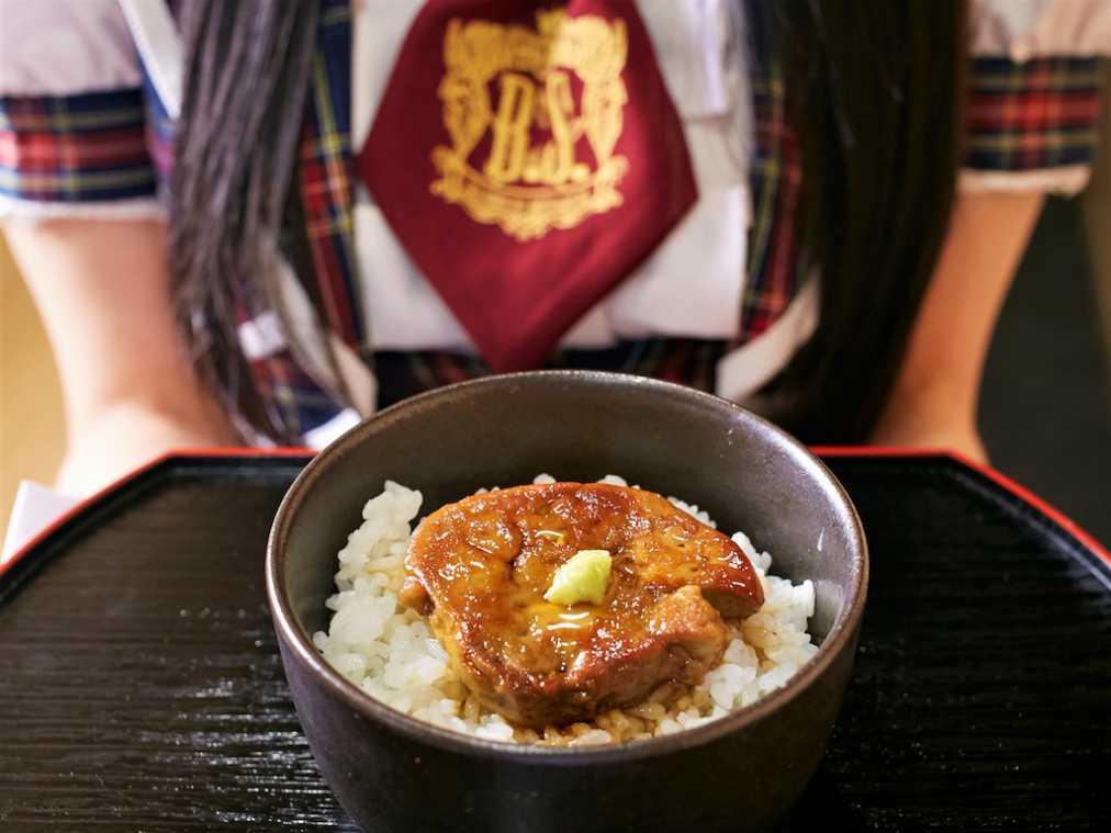 和風フォアグラ丼 1500円