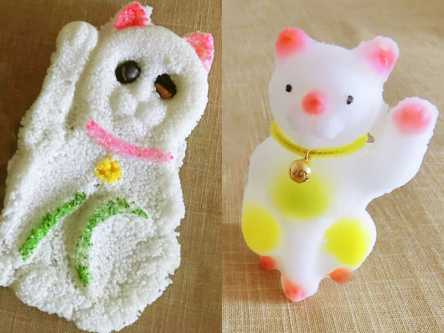 浅草の老舗駄菓子店「まんねん堂」で発見!ブサかわ招き猫が良縁を招く