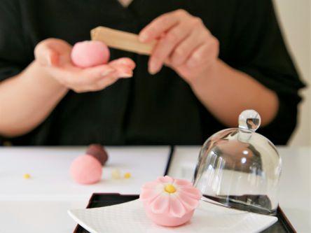 鎌倉・長谷で可愛いパステルカラーの和菓子を手作り体験!女子力磨きにピッタリ!