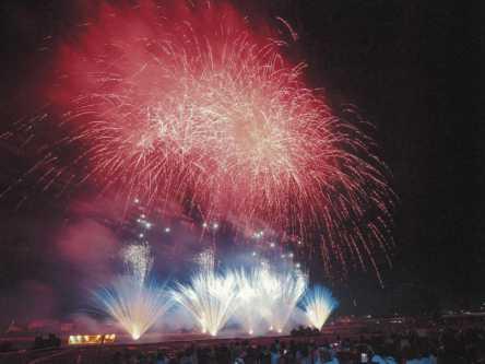 愛媛県のおすすめ花火大会、2020年の開催・中止は?