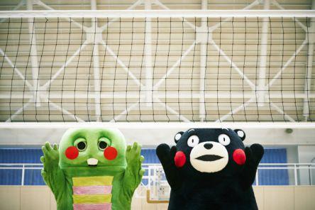 初日はくまモンとガチャピンに会える!?渋谷ヒカリエで熊本すごか写真展を開催