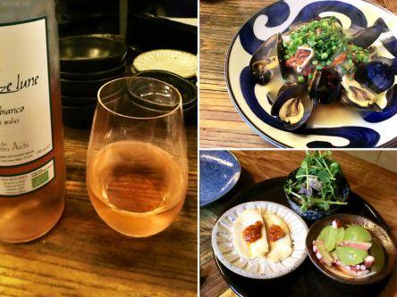 白でも赤でもない!「オレンジワイン」を恵比寿のおしゃれ酒場で初体験