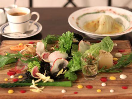 前菜から野菜がモリモリ!お野菜イタリアンでいただく優秀ランチコース