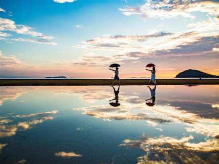 日本のウユニ塩湖「父母ヶ浜」へ向かう!瀬戸内海のおすすめ絶景コース