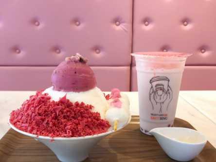 乙女気分全開!韓国のかき氷店「カフェコッピン」のピンクメニューがかわいすぎ