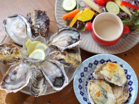新宿で飲み会ならココがおすすめ!予算5000円で牡蠣&無農薬野菜の大満足dinner
