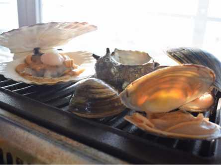 貝・肉・海鮮丼と超豪華!2900円の活貝焼き食べ放題がコスパ最強!