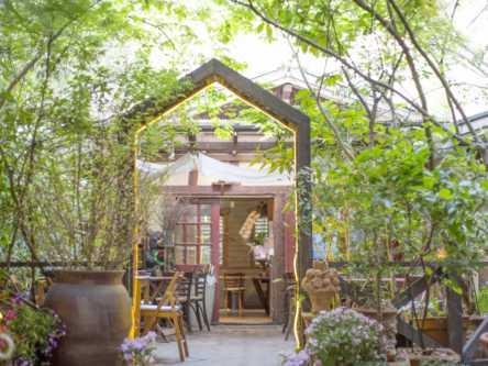 横浜の癒されランチ。緑あふれる「汐汲坂ガーデン」で絶品洋食とケーキを満喫