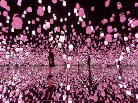 「ランプの森」が桜一色に染まる!チームラボ春限定のプログラムへ