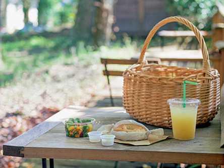 森の中で思いっきり!香川の材木屋さんが営む「キトクラスカフェ」で気ままなピクニック