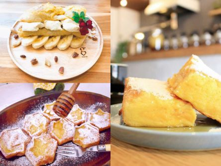 幸せな休日の始まりに!もちっ、とろ~り食感の絶品フレンチトースト3選