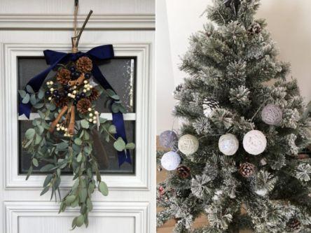 100均アイテムで簡単DIY!おうちで作るクリスマスデコレーション3選