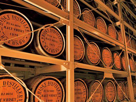白州のウイスキー工場見学&酒蔵で試飲し放題!オトナだから楽しい名水グルメツアー