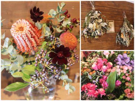 実ものを飾って秋を楽しむ!花屋「THE DAFFODILS」の秋色アレンジに癒やされる