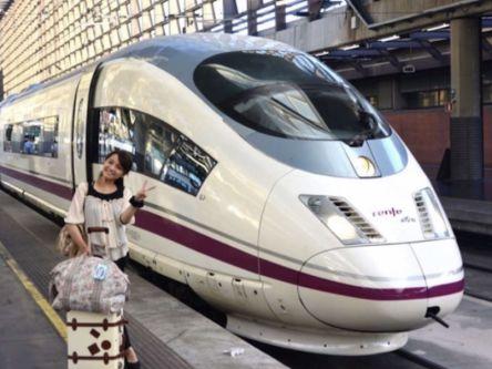 スペイン国鉄のエース 「AVE」!