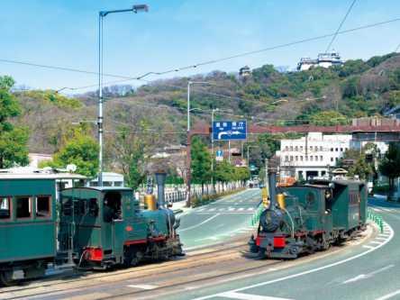 坊っちゃん列車で快適に!松山の絵になる文学スポットを巡る朝さんぽ