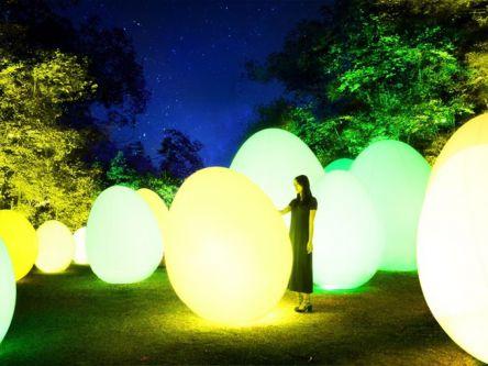 ニューオープンのメッツァビレッジで「チームラボ 森と湖の光の祭」を体験