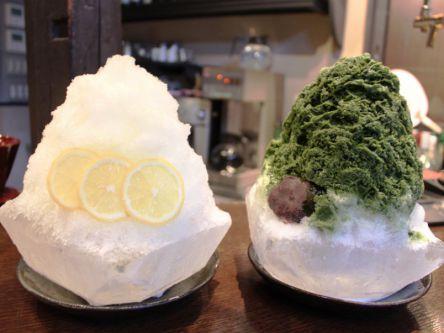 冬でも食べたい!老舗氷店プロデュースのかき氷は器もぜ~んぶ氷です