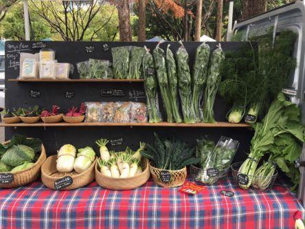 毎週土曜は神戸・三宮に集合!「ファーマーズマーケット」で素敵な朝時間
