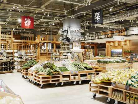 焼きたてパンから野菜に果物まで!?世界初、「無印良品」の食の専門売場