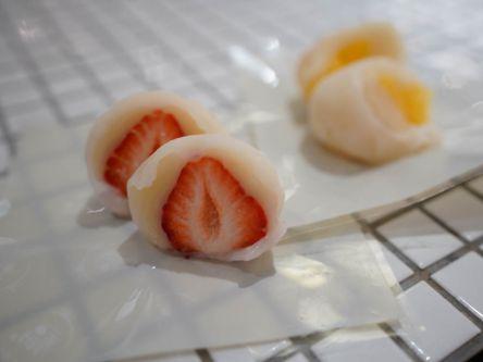 広島のアウトレットで発見!おみやげにぴったりのフルーツ大福専門店