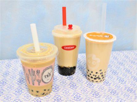 原宿・表参道界隈のタピオカミルクティーを飲み比べ!定番・茶葉・モチモチあなたはどれ?