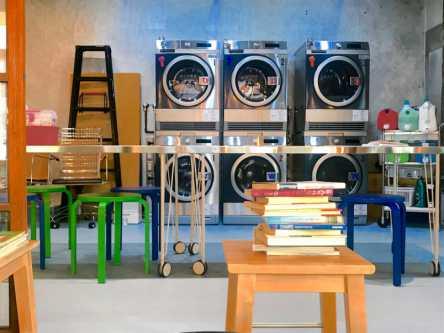 カフェタイムの合間に洗濯ができる!「喫茶ランドリー」は下町のコミュニティでした