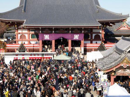 東京都のおすすめ初詣スポット、2021年の初詣行事やご利益は?