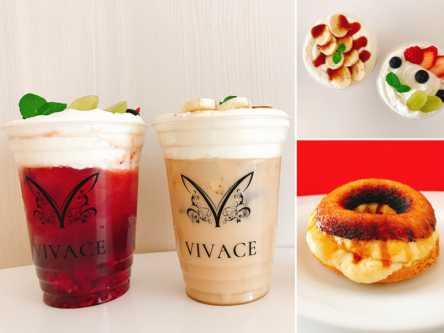 紅茶党に朗報!「VIVACE trend café」のクリームとフルーツたっぷりの食べる紅茶!