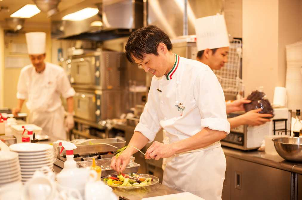 料理長の山村さん